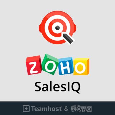Logo Zoho Sales IQ chat online