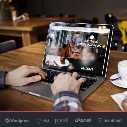 Página web para restaurantes RestBeef