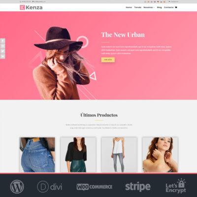 Crear tienda online Woocommerce y Divi de ropa y moda
