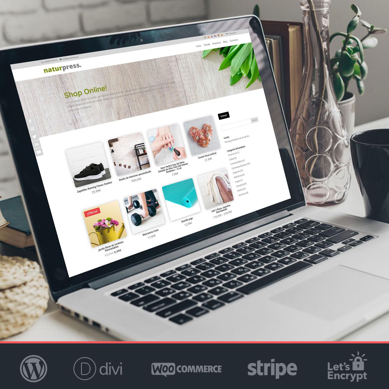 Tienda online productos bio Naturpress 4