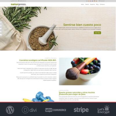 Tienda online productos bio Naturpress 3