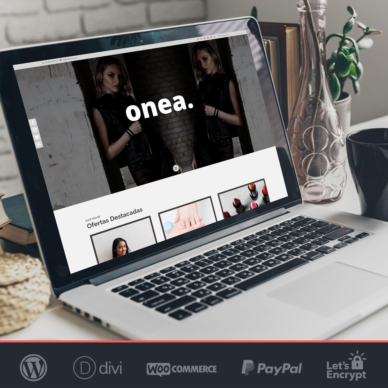 Crear tienda online Woocommerce Onea