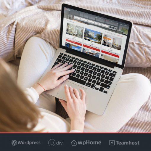 Plantilla Flex WordPress para Inmobiliaria