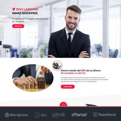 Landing Page WordPress para Inmobiliaria