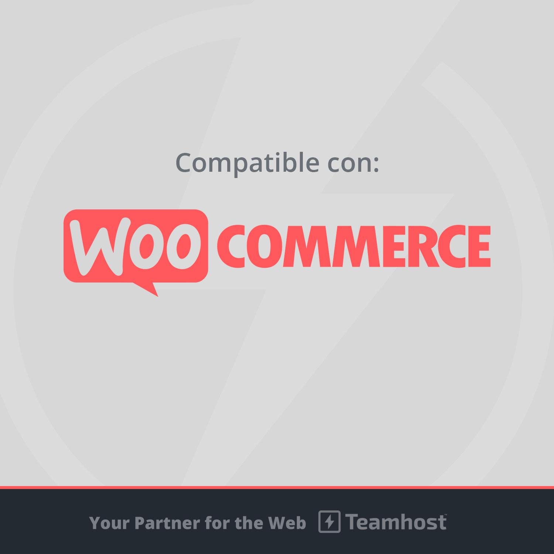 plantilla compatible con woocommerce