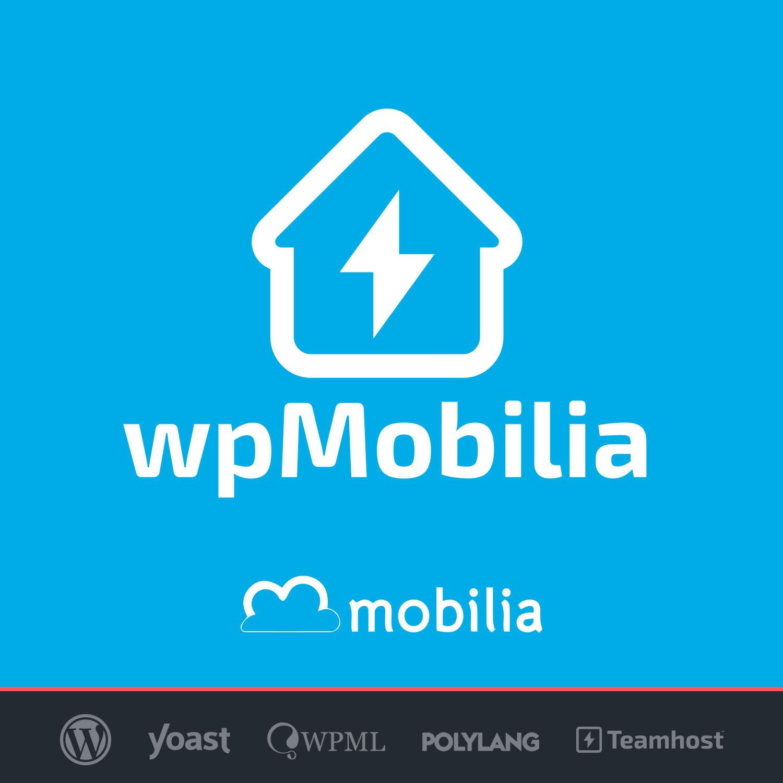 Logo Plugin Mobilia con WordPress