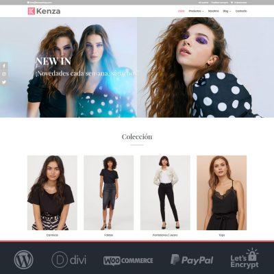 Plantilla WooCommerce tienda online Kenza