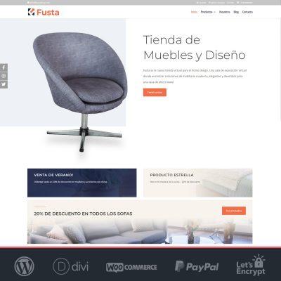 Fusta - Plantilla WooCommerce para Tiendas Online
