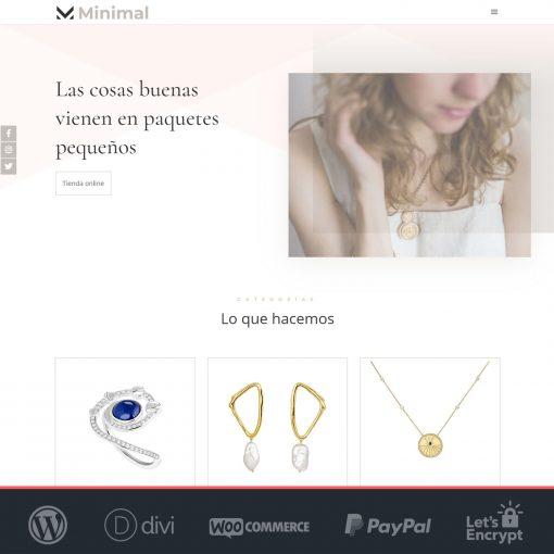 Minimal - Plantilla WooCommerce para Tiendas Online